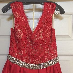 Jovani Dresses - Jovani Red A-line Ballgown pageant prom gown